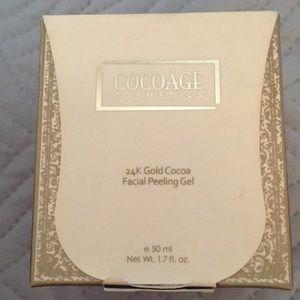 Cocoage cosmetics facial peeling gel
